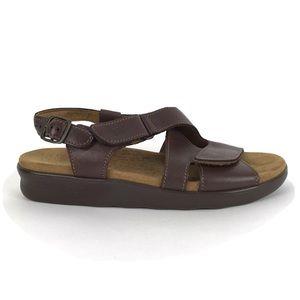 SAS Tripad Comfort Huggy Sandals Leather Strappy 9